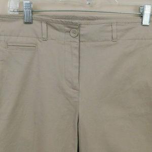Talbots Size 10 Khaki Beige Pants